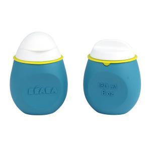 Beaba - 912624 - Lot BabySqueez' 2 en 1 et Squeez'Portion - Blue (384168)
