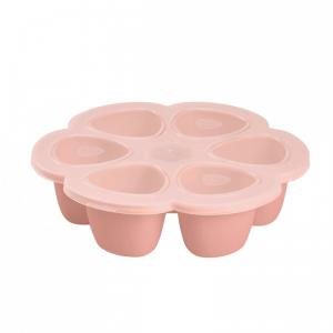 Beaba - 912595 - Multiportions silicone 6 x 90 ml pink (384172)