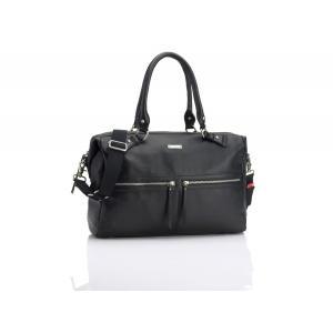 Storksak - SK1911 - Sac à langer Caroline Leather cuir noir (384248)