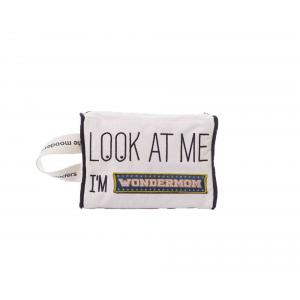 Mooders - BU174 - Trousse Moodcase écrue Patch WONDERMOM (384460)