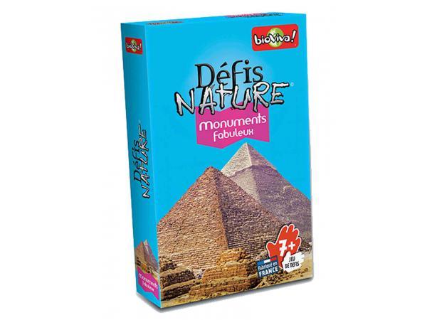 Défis nature - monuments fabuleux - age 7+