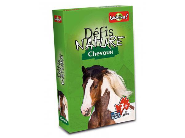 Défis nature - chevaux - age 7+