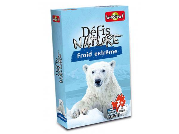 Défis nature - froid extrême - age 7+