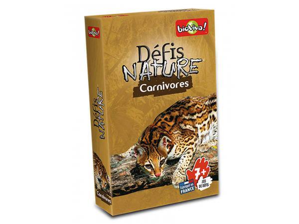 Défis nature - carnivores - age 7+