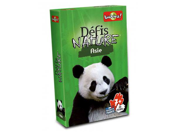 Défis nature - asie - age 7+