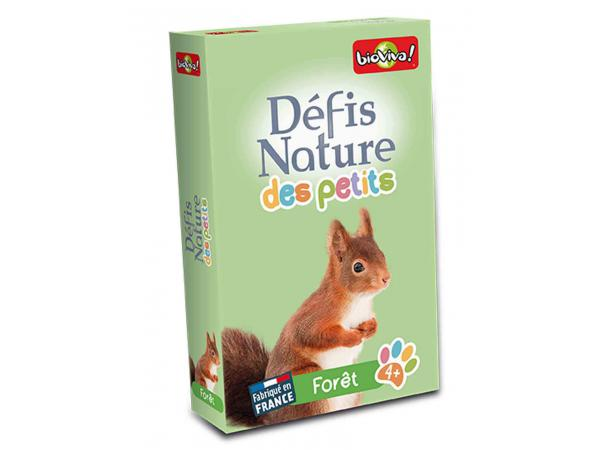 Défis nature des petits - forêt - age 4+