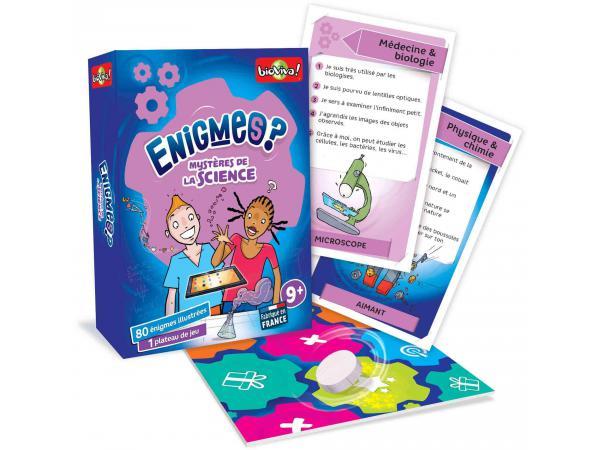 Enigmes - mystères de la science - age 9+