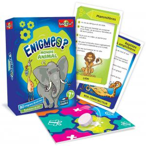 Bioviva - 200400 - Enigmes - Monde animal  - Age 7+ (385106)