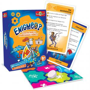 Bioviva - 200448 - Enigmes - Chevaliers et châteaux forts  - Age 9+ (385114)