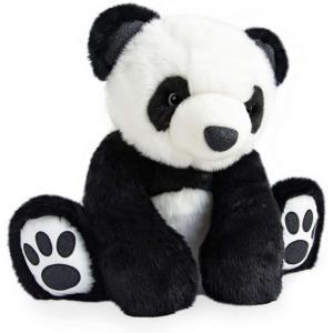 Histoire d'ours - HO2913 - Peluche so chic panda - noir - taille 50 cm (385736)
