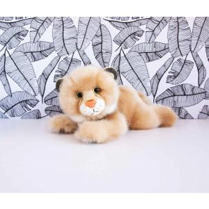 Histoire d'ours - HO2872 - Peluche so chic lynx  beige - taille 23 cm (385746)