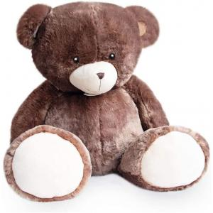 Histoire d'ours - HO2900 - Peluche ours bellydou -  marron - taille 110 cm (385812)