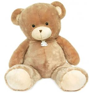 Histoire d'ours - HO2899 - Peluche ours bellydou -  champagne - taille 110 cm (385822)