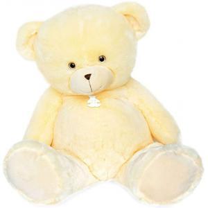 Histoire d'ours - HO2898 - Peluche ours bellydou - crème - taille 110 cm (385832)