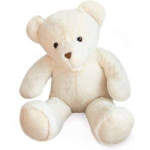 Histoire d'ours - HO2908 - Peluche ours titours - blanc - taille 75 cm (385856)