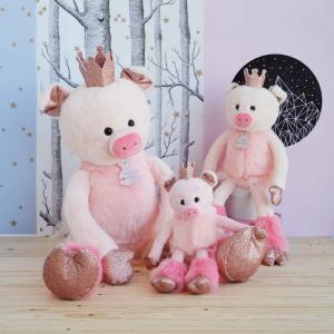 Histoire d'ours - HO2849 - Collection Happy Family - TWIST - Rosette 35 cm (cochon) (385880)