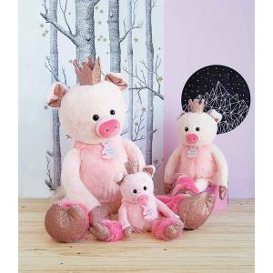 Histoire d'ours - HO2843 - Collection Happy Family - TWIST - Rosette 25 cm (cochon) (385882)