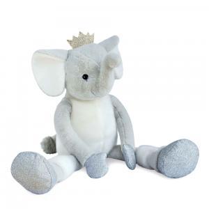Histoire d'ours - HO2856 - Collection Happy Family - TWIST  - Elfy 60 cm (éléphant) (385884)