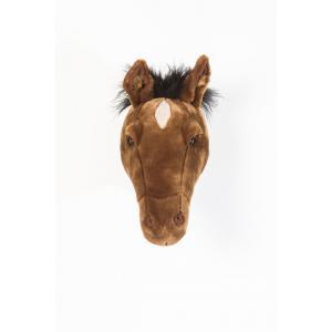 Wild and Soft - WS0034 - Trophée cheval brun foncé Scarlett (386006)