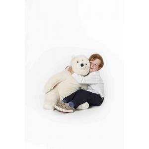 Wild and Soft - WS4401 - Peluche ours polaire assis Victor (386036)