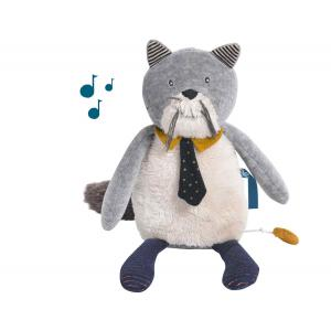 Moulin Roty - 666042 - Chat musical Les Moustaches (386164)