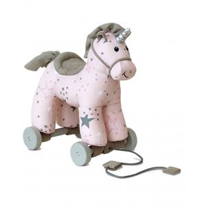 Little Bird Told Me - LB3079 - Celeste Unicorn Pull Along (386370)