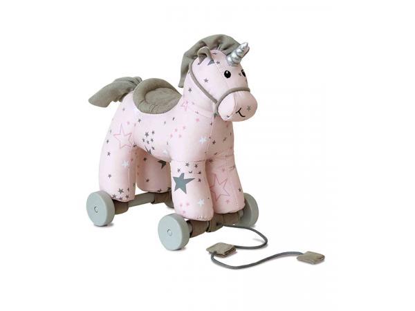 Unicorns et friends - celeste unicorn pull along