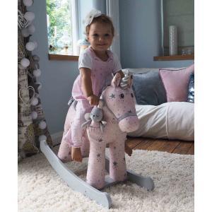 Little Bird Told Me - LB3076 - Unicorns & Friends - Celeste & Fae Rocking Unicorn (12m+) (386376)