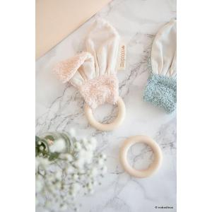 Nobodinoz - N107912 - Anneau de dentition Bunny pink (386460)