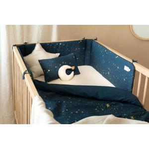 Nobodinoz - N096339 - Tour de lit Nest 207x32 cm gold stella - night blue (386536)