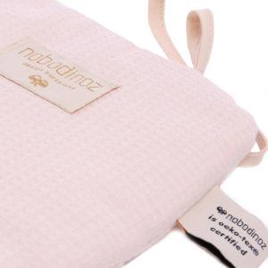 Nobodinoz - N096414 - Tour de lit Nest 207x32 cm coton uni dream pink (386552)
