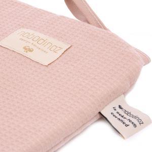 Nobodinoz - N096438 - Tour de lit Nest 207x32 cm coton uni misty pink (386554)