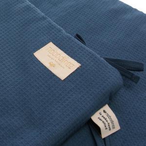 Nobodinoz - N096469 - Tour de lit Nest 207x32 cm coton uni night blue (386562)