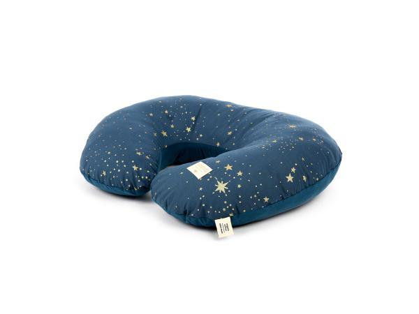Coussin d'allaitement sunrise 50x60x15 cm gold stella - night blue