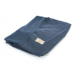 Nobodinoz - N098326 - Housse à langer Calma 70x50 cm coton uni night blue (386974)