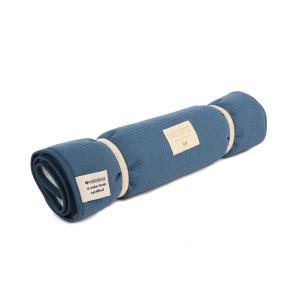 Nobodinoz - N097855 - Matelas à langer Nomad 60x35 cm coton uni night blue (387094)