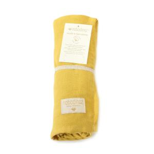 Nobodinoz - N106670 - Lange Butterfly en double gaze de coton 100x120 cm farniente yellow (387114)