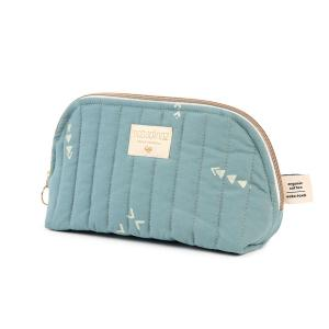 Nobodinoz - N105413 - Trousse de toilette Holiday 14x23 cm gold secrets - magic green (387578)