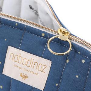 Nobodinoz - N105468 - Trousse de toilette Holiday 14x23 cm gold stella - night blue (387584)