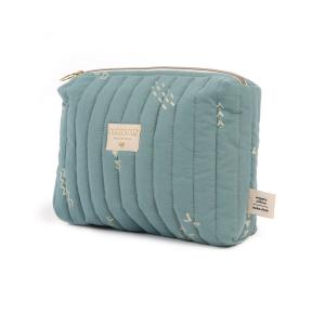 Nobodinoz - N105710 - Trousse de toilette Travel 18x25x17 cm gold secrets - magic green (387638)