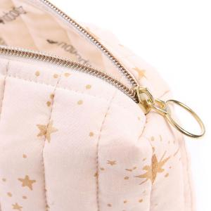 Nobodinoz - N105727 - Trousse de toilette Travel 18x25x17 cm gold stella - dream pink (387646)