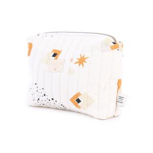 Nobodinoz - N105802 - Trousse de toilette Travel 18x25x17 cm sunset eclipse - natural (387650)