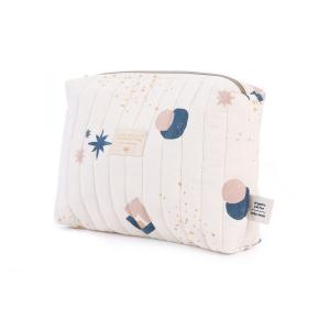 Nobodinoz - N105772 - Trousse de toilette Travel 18x25x17 cm night blue eclipse - natural (387652)