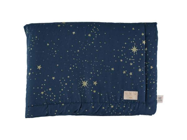 Couverture laponia 70x70 cm gold stella - night blue