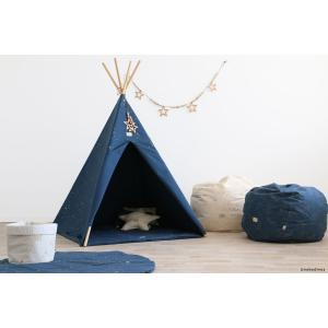 Nobodinoz - N104188 - Tipi Phoenix 149 h x109 gold stella - night blue (388204)