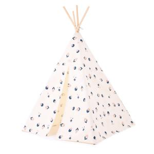 Nobodinoz - N104195 - Tipi Phoenix 149 h x113 night blue eclipse - natural (388212)