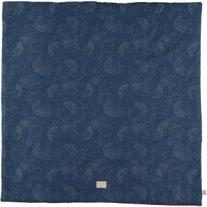 Nobodinoz - N103167 - Tapis de jeu Colorado 100x100 cm gold bubble - night blue (388292)