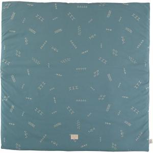 Nobodinoz - N103136 - Tapis de jeu Colorado 100x100 cm gold secrets - magic green (388302)