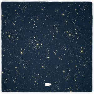 Nobodinoz - N103181 - Tapis de jeu Colorado 100x100 cm gold stella - night blue (388308)