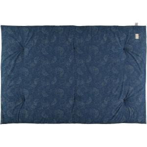Nobodinoz - N104591 - Futon Eden 148x101 gold bubble - night blue (388520)